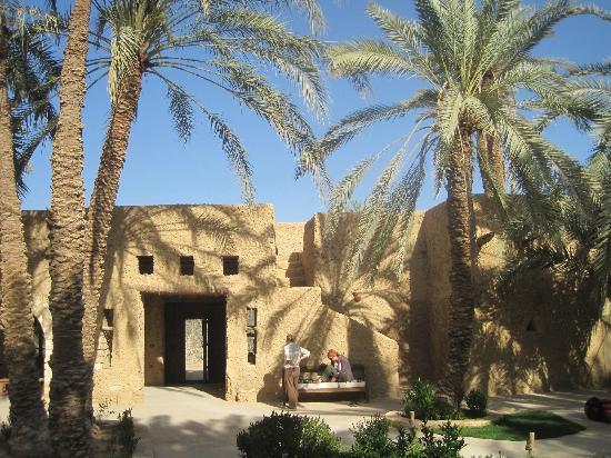 Carols Ghaliet Ecolodge Siwa: entrance to hotel