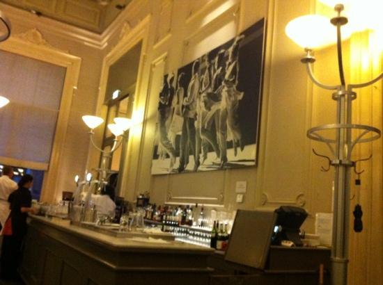 Polman's Huis: the bar