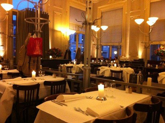 Polman's Huis: the dining room