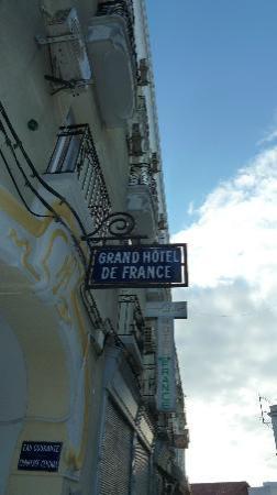 Grand Hotel de France: Jugendstilfassade