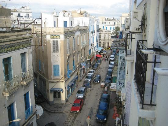 Grand Hotel de France: Blick Richtung Medina