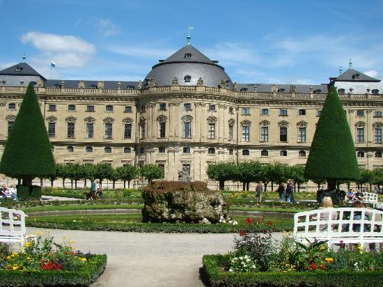 W rzburg the residenz picture of the residenz for Design hotel wurzburg