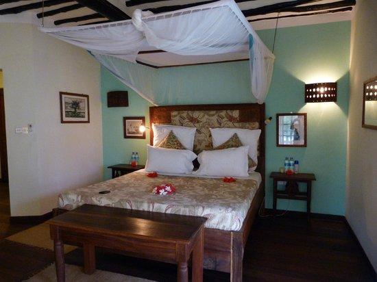 Anna of Zanzibar: chambre