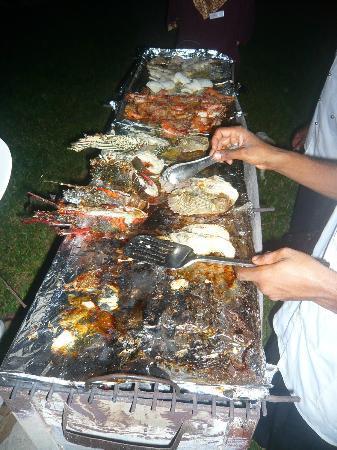 Anna of Zanzibar : barbecue homard