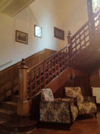 Vila Retezat : central staircase
