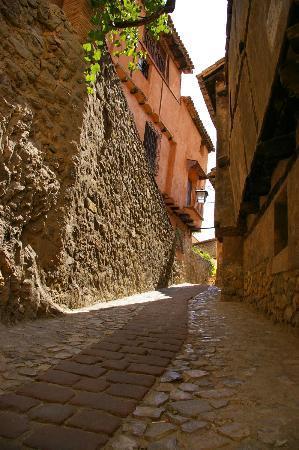 Teruel, Spagna: Cuesta en Albarracín