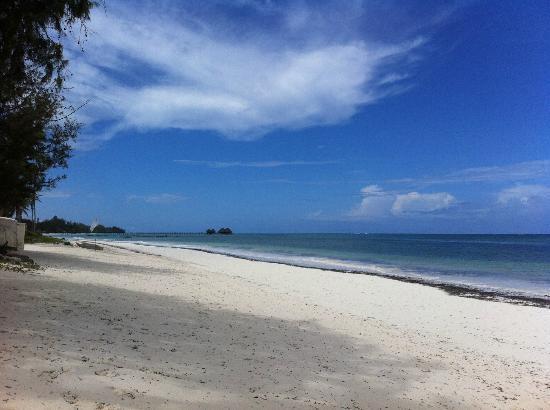 Anna of Zanzibar : la plage