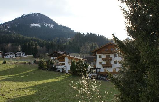Schweigerhof: Rear View - Gaisberg
