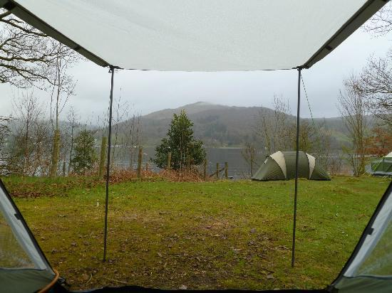 Our Tent In The Woods Picture Of Low Wray National Trust