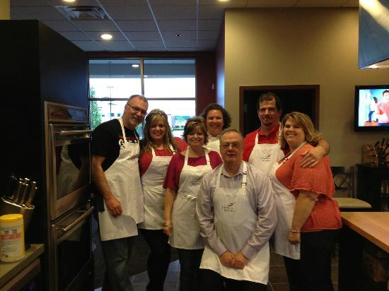The Learning Kitchen : Chef Jamie with our group