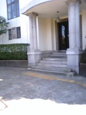 British House: 横浜市イギリス館の玄関