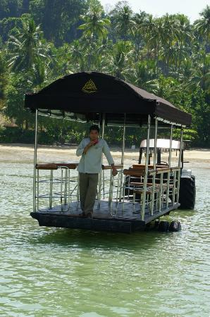 Rayavadee Resort: Arrival at the resort