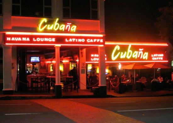 Cubana Havana Lounge Amp Latino Caffe Durban Restaurant