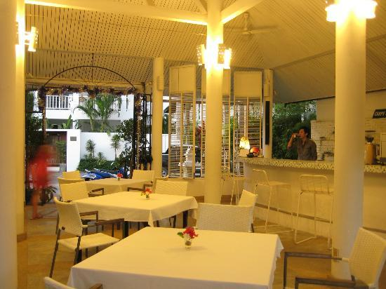 Carpe Diem Hotel Restaurant: Lobby (also where breakfast is served)
