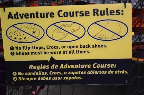Children's Museum of Houston: Wear or take tennis shoes.