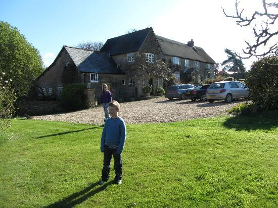 Colly Farm: The back of the house