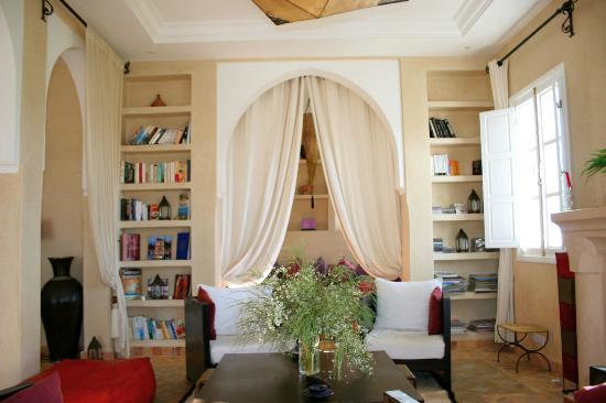 Villa Dar Mogador : Salon
