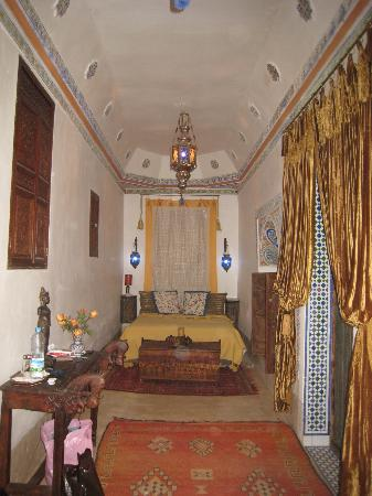 Riad Dar Oulhoum: notre chambre