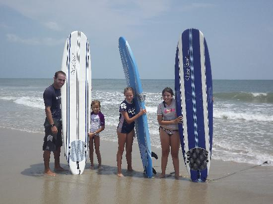 The Sail Shop Tours: Group Surf Lessons available!