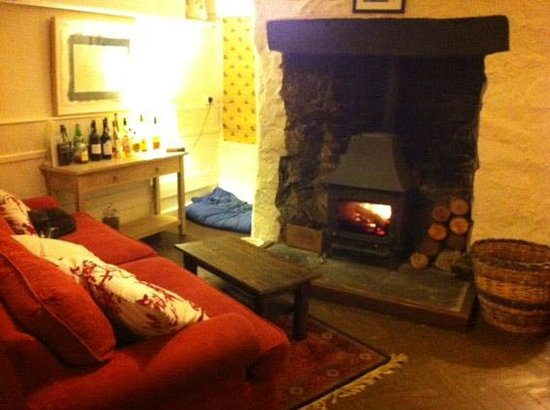 Old Inn: The cosy lounge area.