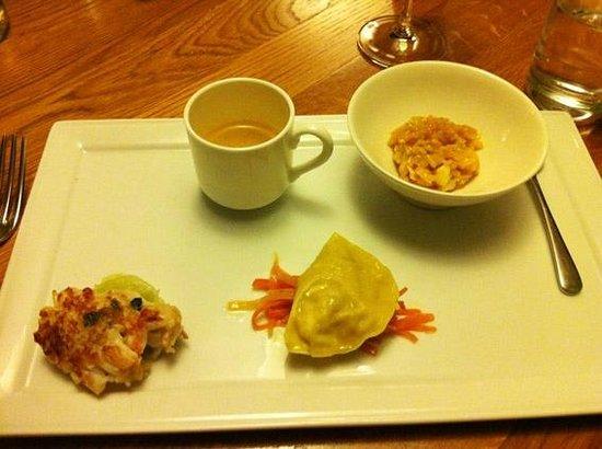 Old Inn: The fantastic 'Plate of crab' starter