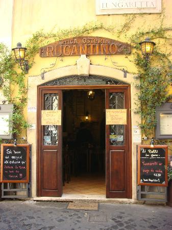 Antica Osteria Rugantino: Eingang