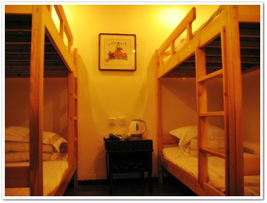 Forbidden City Hostel: 4 of 6 dorm beds