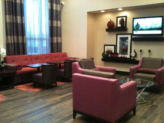 Hampton Inn and Suites Detroit/Airport-Romulus: Gorgeous Lobby