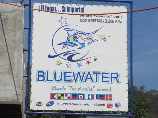 Bahia de Puerto Marques: Signage