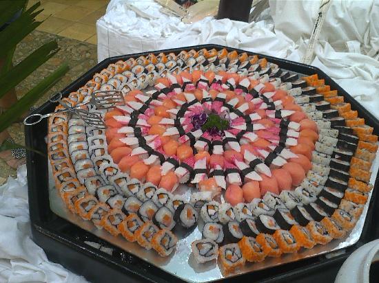 Iberostar Hacienda Dominicus : sushi en el buffet