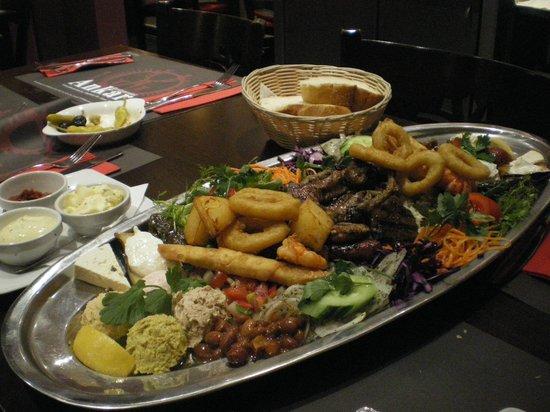 Ankara: Le plateau du chef