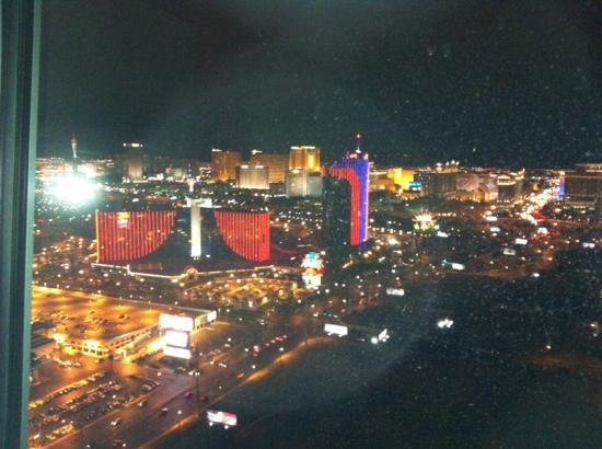 The Playboy Club at the Palms: view from the club