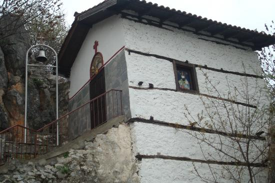 Kastoria, Greece: One of the little churches you pass during walk along the Lake