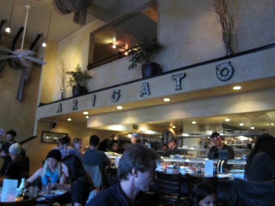 Arigato Sushi Inside The Restaurant