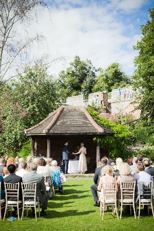 Grays Court: Wedding Ceremony in the Summer House, Gray's Court