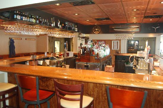 Town Dock Restaurant : Renovated downstairs Bar