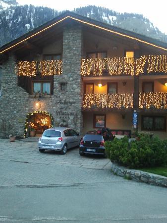 Auberge de la Maison: facciata hotel