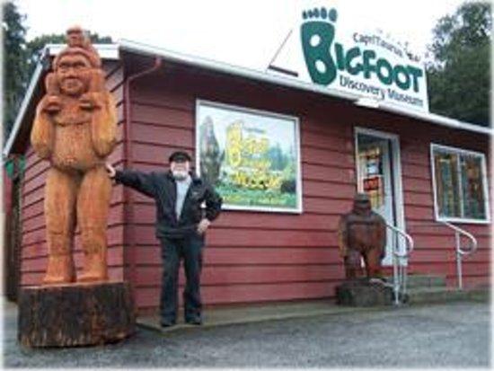 Bigfoot Discovery Museum Felton Ca Hours Address