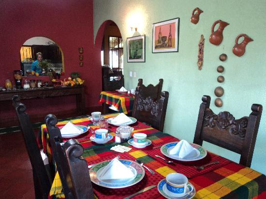 Hotel Linda Vista: Comedor para tomar el desayuno delicioso