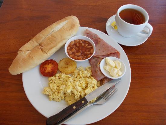 Arena Restaurant and Bar : English Break Fast 3,5000KIP