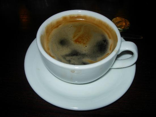 Mortimer Arms Hotel: Delicious coffee