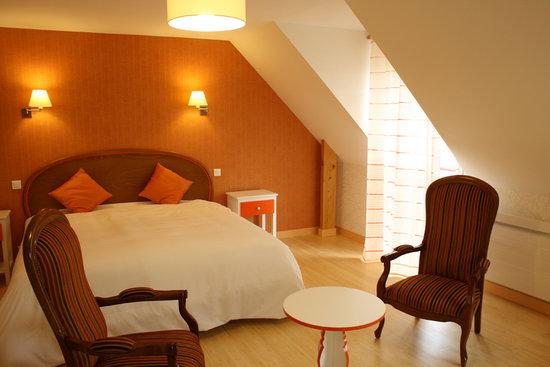 Saint-Evarzec, França: chambre mandarine