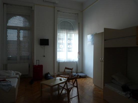 Centrooms House: habitación de 3..aunque cabían muchos más