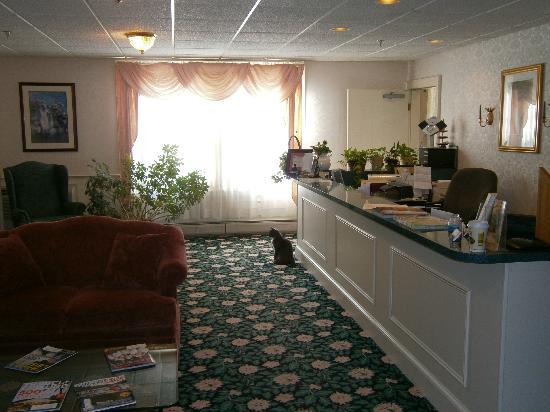 Quimby House Inn: Lobby