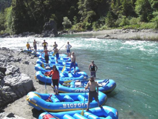 Bigfoot Rafting Day Trips