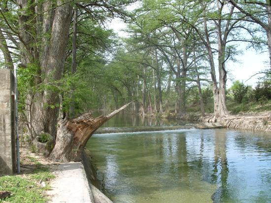 Mayan Dude Ranch: The fishing river