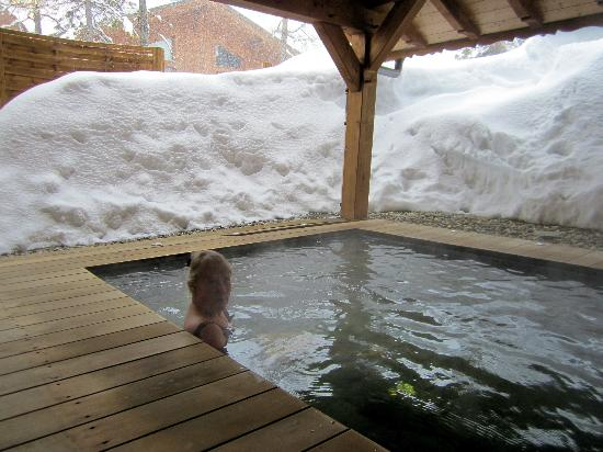 Chalet Matsuzaka Hotel & Spa: outdoor hot pool