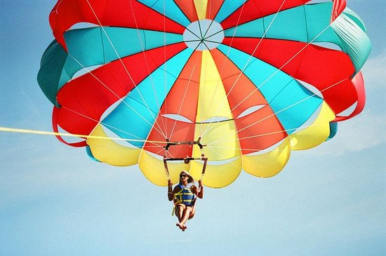 Dennis Parasail: Single rider