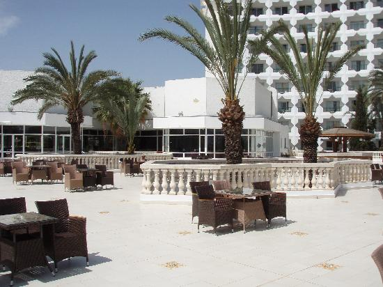 JAZ Tour Khalef Thalasso & Spa: the sun terrace