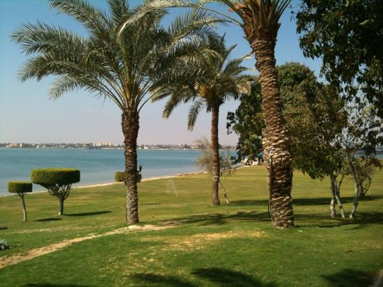 Mercure Ismailia Forsan Island: view from terrace